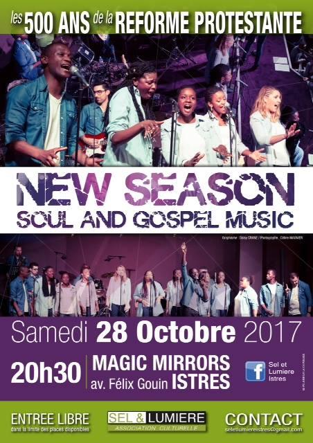 affiche groupe gospel New Season