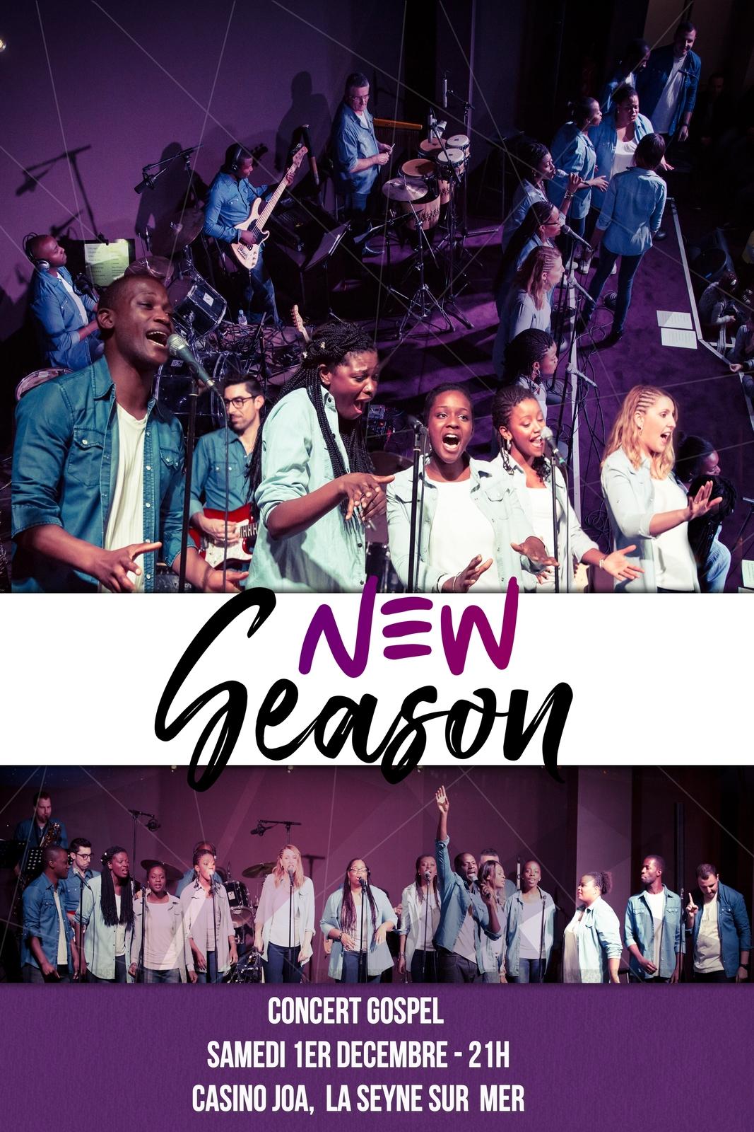 Concert gospel New Season JOA